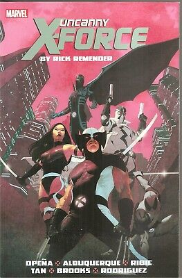 Uncanny X-Force By Rick Remender: The Complete Collection Volume 1-Marvel (2004)