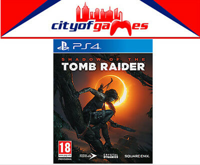 Shadow of the Tomb Raider PS4 Game Brand New & Sealed