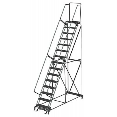 16 Step Rolling Safety Ladder