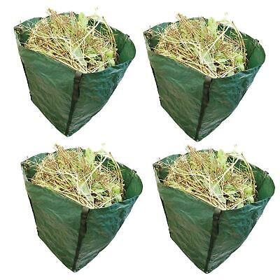 360L Large Garden Waste Bag Strong Rubbish Sack Waterproof Heavy Duty Reusable