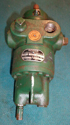 Roper 2 F 10 Positive Displacement Gear Pump Type 27