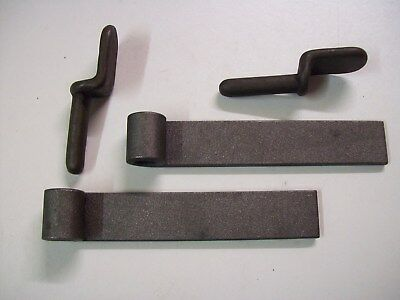 one pair of weld on Trailer/truck Tailboard  hinges and Gudgeon pins FREE P&P