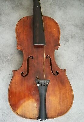 Très Ancien Violon MIRECOURT Handmade Very Old French Violin Geige 4/4