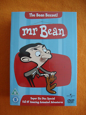 Mr Bean Cartoon Dvd Boxset Vol 1 6 Eur 999 Picclick De