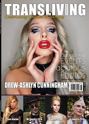 Transliving Magazine issue 61 Transgender Non-Binary Gender Diversity Crossdress