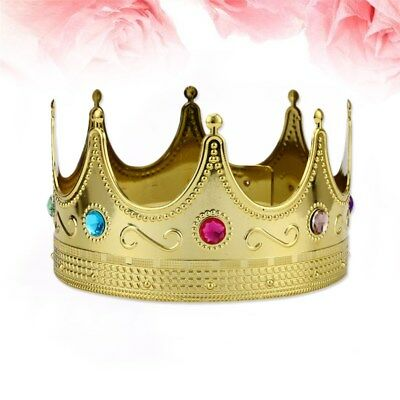 1pc King Crown Adorable Party Accessory for Kids Cosplay Halloween Costume Party