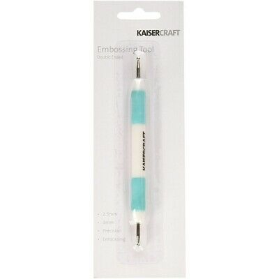 Kaisercraft Double Ended  Embossing Tool 2.5 mm & 3 mm for Precision Embossing