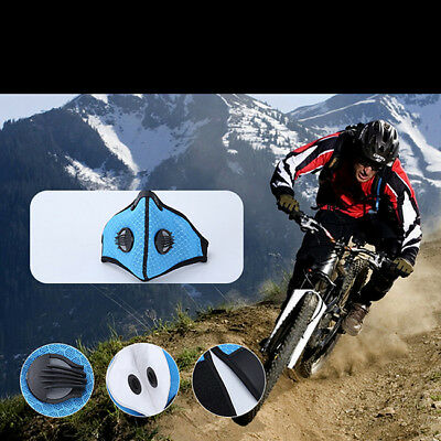 Bicycle Anti-pollution Mask Sport Ski Dust Proof Air Filter Face Mask Unisex LH