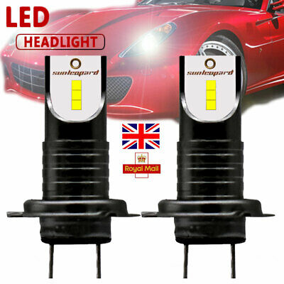 2pcs H7 110W LED Headlight Kit 26000 LM Car Driving Lamps CSP Chips Bulbs DRL