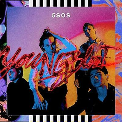 Japan Cd 5Sos 5 Seconds Of Summer Youngblood With 3 Bonus Tracks For Japan Only