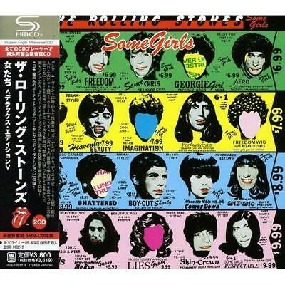 THE ROLLING STONES-SOME GIRLS [DELUXE EDITION]-JAPAN 2 SHM-CD BONUS TRACK Japan