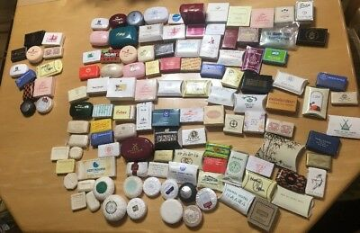 Vintage+ Lot of 75 Different Assorted Guest Hotel Travel Soap Bars Palace Xang