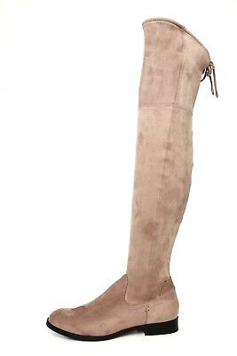 c723b1e7f2d Dolce Vita Neely Women s Taupe Microsuede Over The Knee Boot Size 8 1069