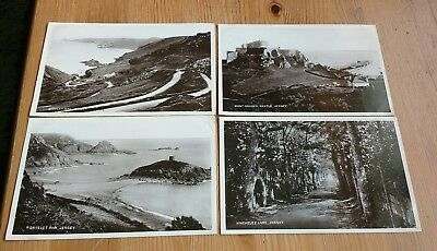 4 Postcards Bought & Sent From Jersey : August 1907