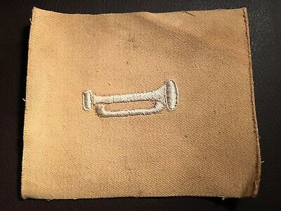 M1902 - WW1 US Bugler / Trumpeter Trade Patch / Sleeve Insignia