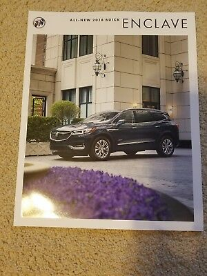 2018 Buick Enclave Brochure NEW!