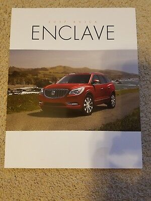 2017 Buick Enclave Brochure NEW!