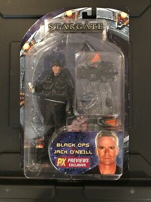 Stargate SG1 Diamond Select Series 1 Black Ops Jack O'Neill Cut Upc New RARE