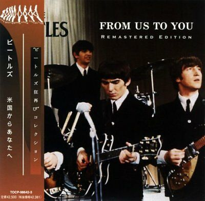 BEATLES FROM US TO YOU 2 CD MINI LP w/OBI