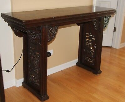 17thC Chinese Altar Table - Inv# M2QF005