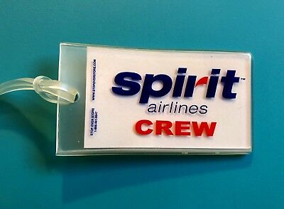 Spirit Airlines Luggage Tag