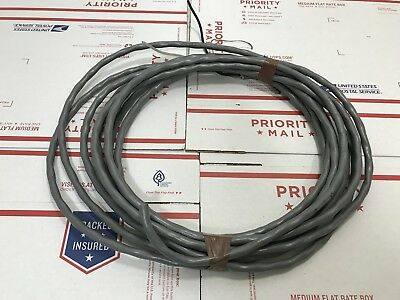 Belden 8718 12AWG CL2 Twist Pair Shielded Audio Power Cable 25 Feet