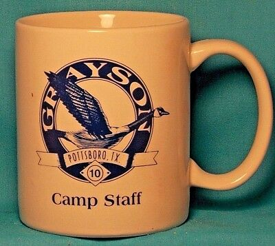 BOY SCOUTS Grayson Pottsboro TX Circle Ten / CAMP STAFF / COFFEE CUP / MUG