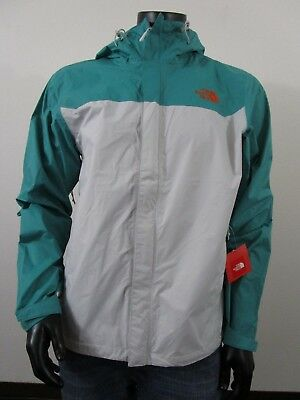 Mens TNF The North Face Venture Dryvent Waterproof Hooded Rain Jacket -  Glacier 5fc8ce1af