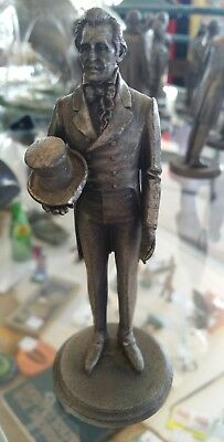 USA PRESIDENT Andrew Jackson COLLECTIBLE PEWTER STATUE LANCE