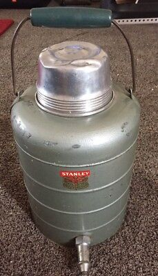 Vintage Antique Stanley 1 Gallon Thermos Bottle Jug Steel Insulated Metal USA C