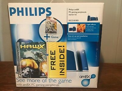 Philips SGC5101BD amBX PC gaming peripherals.two Games Included