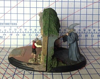 """The Hobbit """"No Admittance"""" Bookends By Weta Workshop"""