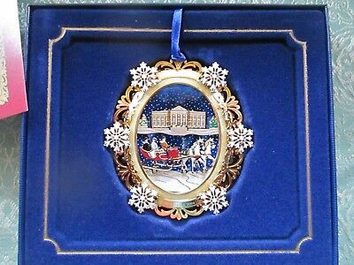 The White House 2004 Christmas Ornament