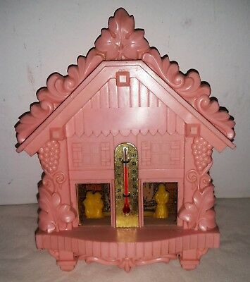 Vintage Hansel And Gretel And The Wicked Witch Mystic Weather Forecaster PINK