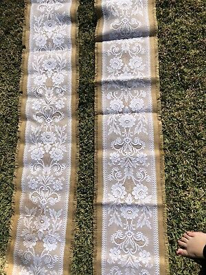Lace Wedding Table Runners