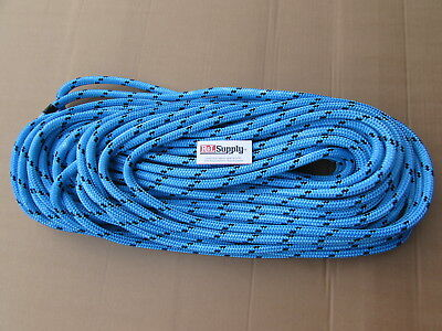 "150Ft X 1/2"" Notch Kraken Monster Double Braid Rigging Rope 11,100Lb Arborist"