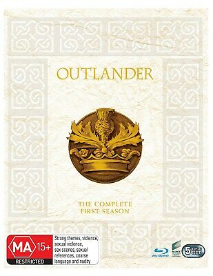 Outlander Complete Season 1 Blu-ray Region B NEW