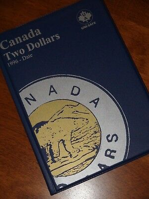 COLLECTION DELUXE of Canada TWO DOLLARS Coins 1996-2018 - ONLY AU/BU TOONIES!