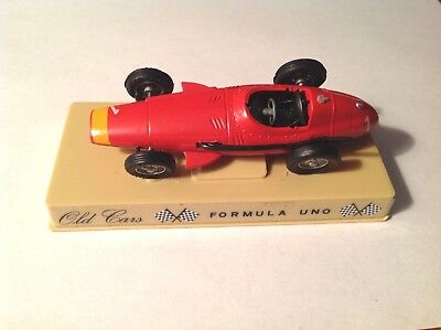 Formula Uno 501 Maserati 250F 1957 Race Car 3 3/4 Inches Metal Diecast Old Cars