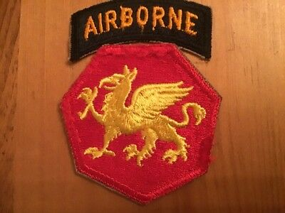 Ww2 Us Army 106Th Airborne Division Patch