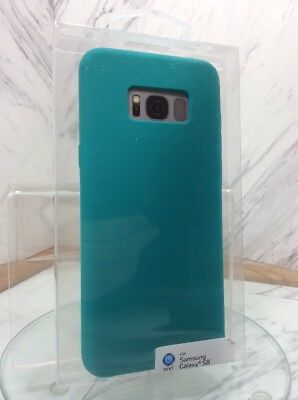 best service e7b63 86df6 NEW ONN SAMSUNG Galaxy S8 Cell Phone Case Teal Aqua Turquoise Wal ...