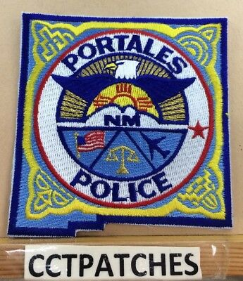 Portales, New Mexico Police Shoulder Patch Nm
