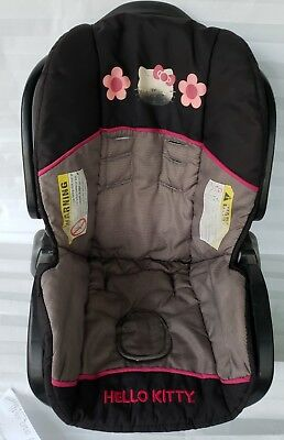 Baby Trend Car seat Cover Black Hello Kitty Ez Loc Infant Replacement Part