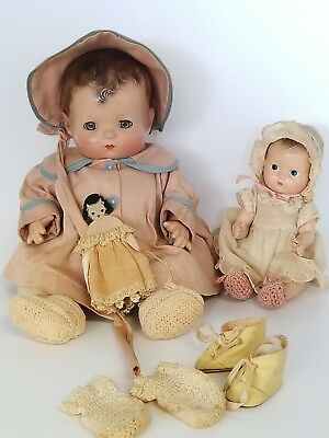 Vintage Effanbee Doll, Patsy Baby lot Composition