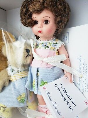 """NEW IN BOX: Madame Alexander Doll """"Teddy and Me Collecting Bears"""" 2002"""