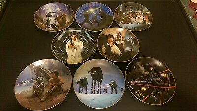 Star Wars Collector Plates 1986