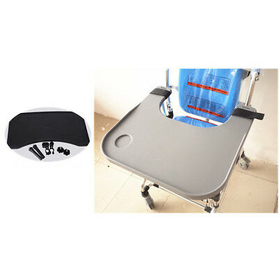 ABS Removable Wheelchair Tray Working Lap Reading Tray Table 58x52.5CM