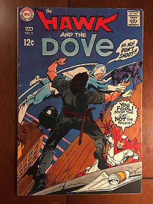 Hawk And Dove # 3 Very Good Dc Comics Gil Kane Silver Age 1969