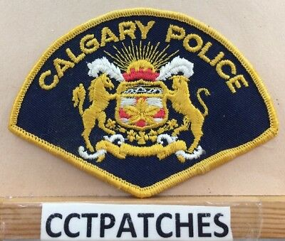 Calgary, Canada Police (Yellow) Shoulder Patch