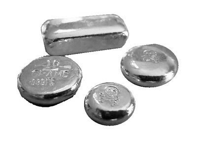 Silver Bar & Round Lot | .999 Silver | Hand Poured (SBR1)